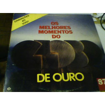Lp Os Melhores Momentos Do Globo De Ouro 1987 Ao Vivo