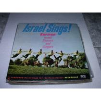 Lp Israel Sings, Danças E Canções, 1970