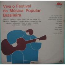Viva O Festival Da Música Popular Brasileira - Grav Ao Vivo