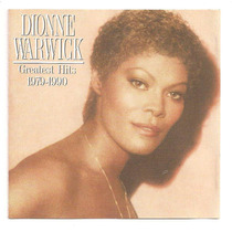 Cd Dionne Warwick - Greatest Hits - 1979-1990