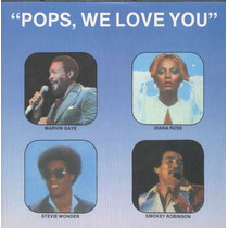 Marvin Gaye-diana Ross-st Compacto De Vinil Pops We Love You