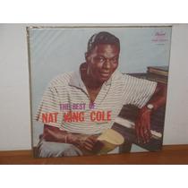Lp The Best Of Nat King Cole Capa Bolachão Disco De Vinil