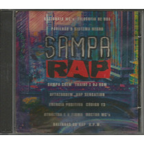 Cd Coletânea Sampa Rap - 1996 - Racionais, Thaíde, Pavilhão9
