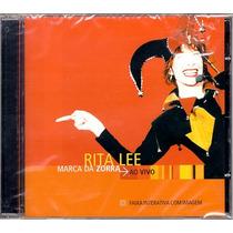 Rita Lee - Marca Da Zorra Ao Vivo 2002 - Cd Lacrado