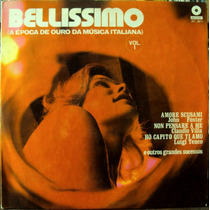 Lp Vinil - Bellissimo Vol.1 - 1971