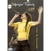 Dvd Shania Twain Up! Live In Chicago (2003) - Novo Lacrado