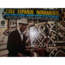 Lp - Nat King Cole - Cole Español Novamente