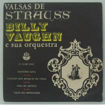 Compacto Vinil Billy Vaughn E Sua Orquestra - Valsas