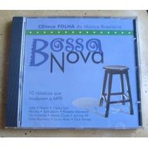 Cd Bossa Nova - Cdteca Folha Da Músicas Brasileira