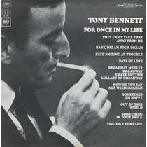 Lp - Tony Bennett - For Once In My Life (imp - Usa)