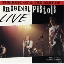 The Best Of & The Rest Of Sex Pistols Live (cd Importado)
