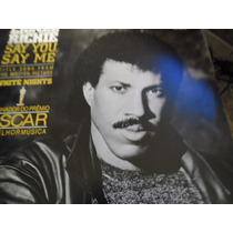 Lionel Richie-say You Say Me 12 Mix Promo