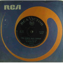 Vanusa Compacto Vinil Pra Nunca Mais Chorar 1967 Mono