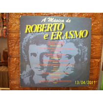 Vinil Lp A Musica De Roberto E Erasmo - Francisco Petronio
