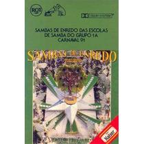 Fita K7-sambas De Enredo Do Grupo 1a-rj-1991
