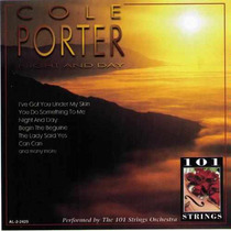 101 Strings / 101 Cordas - Cd Night And Day / Cole Porter