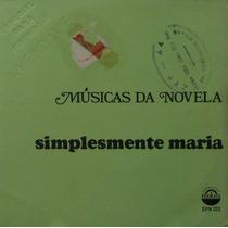 Simplesmente Maria - Música Da Novela - Compacto 1970