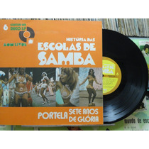 História Das Escolas De Samba Vol. 6- Lp 10 Pol C/livreto