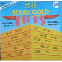 20 Solid Gold Hits Lp Import Love Unlimited Bto Stylistics