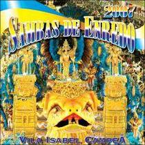 Cd Original Sambas De Enredo 2007 - Rio De Janeiro