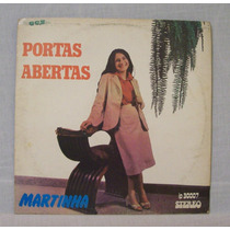 Lp Martinha - Portas Abertas - Gcs - 1981