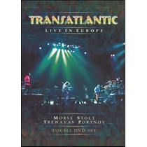 Dvd Transatlantic Live In Europe [eua] Duplo Novo Lacrado
