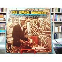 Vinil / Lp - Nat King Cole - Cole Español Novamente