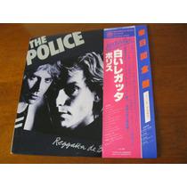 The Police : Reggatta De Blanc ~ Lp Vinil Japonês Raro + Obi
