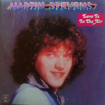 Lp Martin Stevens/love Is In The Air/1978/album Capa Dupla