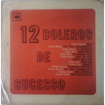 Lp 12 Boleros De Sucesso - 1967