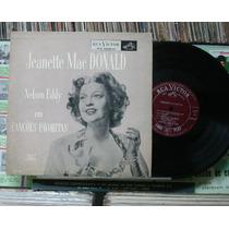 Jeanette Mac Donald Nelson Eddy Canções Favoritas - Lp 10p