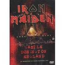 Dvd Iron Maiden-castle Donington England Lacrado Novo Veja !