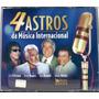 Cd - 4 Astros Da Música Internacional - Kenny Rogers, Mathis