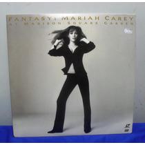 Ld Laser Disc Mariah Carey Fantasy At Madison Square Garden