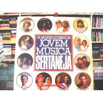 Vinil / Lp - Os Grandes Sucessos Da Jovem Música Sertaneja
