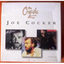 Box Joe Cocker - The Originals (3 Cd) Importado Europeu