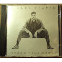 Cd Lionel Richie Louder Than Words(frete Grátis)