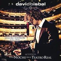 Cd/dvd David Bisbal Una Noche En El Teatro Real [eua] Novo