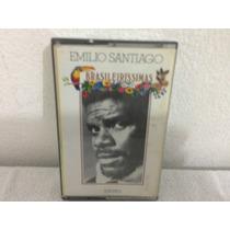 Fita K7 - Emilio Santiago - Brasileirissimas 1976