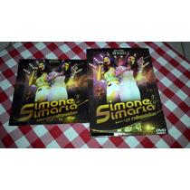 Cd E Dvd Simone E Simaria Ao Vivo Manaus + Frete Grátis