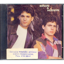Cd Edson & Hudson - 1995 - Promocional