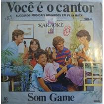Voce É O Cantor Vol.6 Lp Coletanea