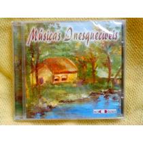 Cd Músicas Inesquecíveis - Coletânea - 1 Edição 2000 Lacrado