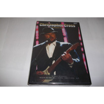 Dvd - Christopher Cross - An Evening With - Lacrado - Raro
