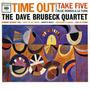 Cd The Dave Brubeck Quartet - Time Out (take Five) Lacrado