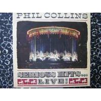 Phil Collins Lp Duplo Serious Hits Live