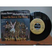 Compacto Michael Jackson Importado Com Diana Ross The Wiz
