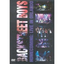 Dvd- Backstreet Boys- Homecoming - In Live Orlando
