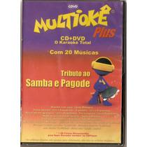Dvd Multiokê Plus - Tributo Ao Samba E Pagode - Novo***