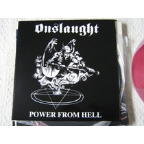 Onslaught Lp Raro Mayhem Metallica Slayer Possessed Venom